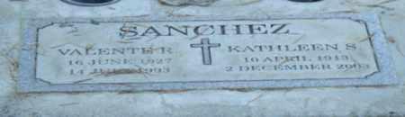 SANCHEZ, VALENTE R - Sacramento County, California   VALENTE R SANCHEZ - California Gravestone Photos