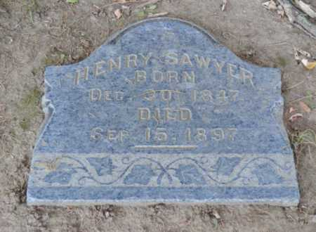 SAWYER, HENRY - Sacramento County, California | HENRY SAWYER - California Gravestone Photos
