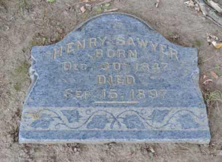 SAWYER, HENRY - Sacramento County, California   HENRY SAWYER - California Gravestone Photos