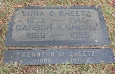 SHEETZ, CARSON - Sacramento County, California   CARSON SHEETZ - California Gravestone Photos