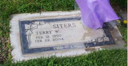 SITERS, TERRY - Sacramento County, California   TERRY SITERS - California Gravestone Photos
