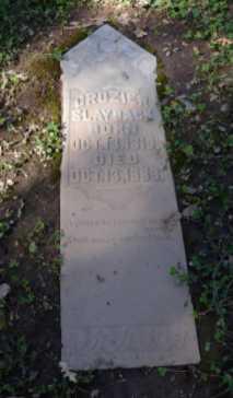 SLAYBACK, CROZIER - Sacramento County, California   CROZIER SLAYBACK - California Gravestone Photos