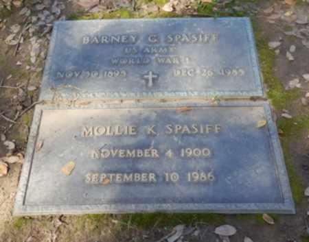 SPASIFF, BARNEY - Sacramento County, California   BARNEY SPASIFF - California Gravestone Photos