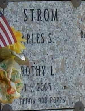 STROM, CHARLES - Sacramento County, California   CHARLES STROM - California Gravestone Photos