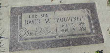 THOUVENELL, DAVID W - Sacramento County, California | DAVID W THOUVENELL - California Gravestone Photos