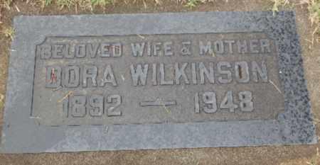 WILKINSON, DORA - Sacramento County, California   DORA WILKINSON - California Gravestone Photos