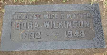 WILKINSON, DORA - Sacramento County, California | DORA WILKINSON - California Gravestone Photos