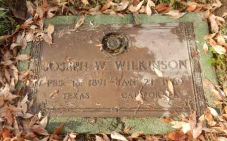 WILKINSON, JOSEPH - Sacramento County, California | JOSEPH WILKINSON - California Gravestone Photos