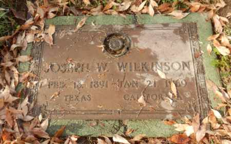 WILKINSON, JOSEPH - Sacramento County, California | JOSEPH WILKINSON - California Gravestone Photos