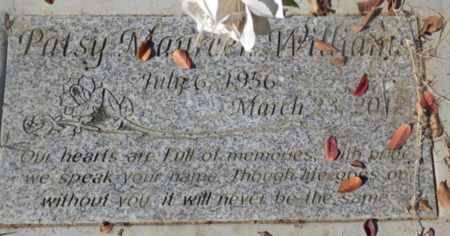 WILLIAMS, PATSY MAUREEN - Sacramento County, California | PATSY MAUREEN WILLIAMS - California Gravestone Photos