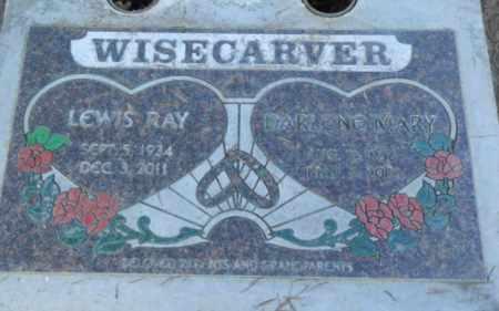 WISECARVER, LEWIS RAY - Sacramento County, California | LEWIS RAY WISECARVER - California Gravestone Photos