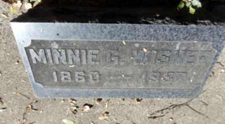 WISNER, MINNIE - Sacramento County, California   MINNIE WISNER - California Gravestone Photos