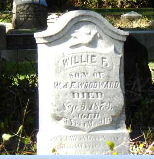 WOODWARD, WILLIE - Sacramento County, California | WILLIE WOODWARD - California Gravestone Photos