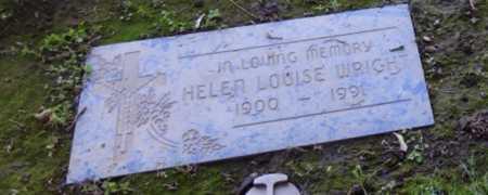 WRIGHT, HELEN - Sacramento County, California | HELEN WRIGHT - California Gravestone Photos