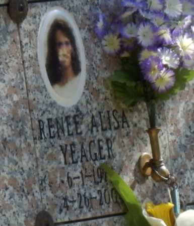 YEAGER, RENEE - Sacramento County, California | RENEE YEAGER - California Gravestone Photos