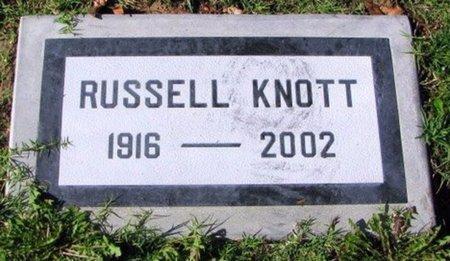 KNOTT, RUSSELL H - San Bernardino County, California   RUSSELL H KNOTT - California Gravestone Photos
