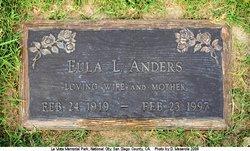 ANDERS, EULA - San Diego County, California   EULA ANDERS - California Gravestone Photos