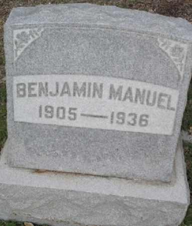 MANUEL, BENJAMIN - San Diego County, California   BENJAMIN MANUEL - California Gravestone Photos