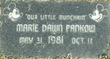 PANKOW, MARIE DAWN - San Diego County, California | MARIE DAWN PANKOW - California Gravestone Photos
