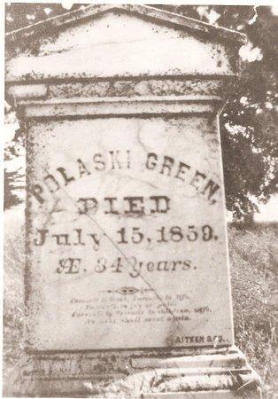 GREEN, PULASKI - San Joaquin County, California | PULASKI GREEN - California Gravestone Photos