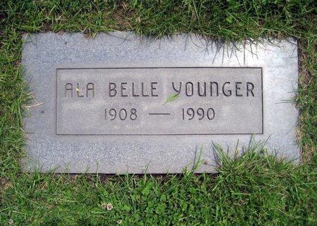 JOHNSON YOUNGER, ALA BELLE - San Joaquin County, California | ALA BELLE JOHNSON YOUNGER - California Gravestone Photos