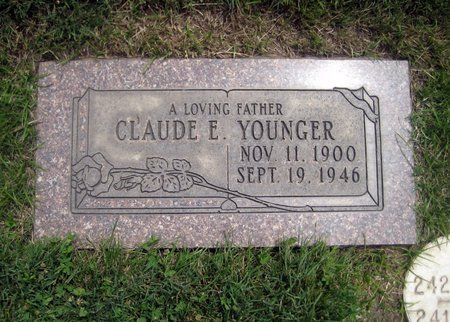 YOUNGER, CLAUDE E. - San Joaquin County, California   CLAUDE E. YOUNGER - California Gravestone Photos