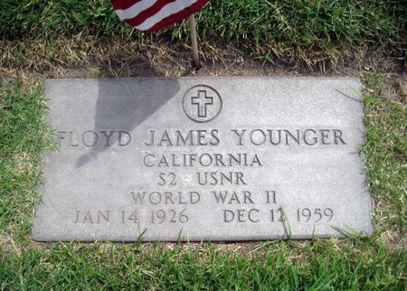 YOUNGER, FLOYD JAMES - San Joaquin County, California | FLOYD JAMES YOUNGER - California Gravestone Photos