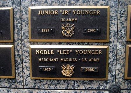 "YOUNGER, JUNIOR ""JR: - San Joaquin County, California | JUNIOR ""JR: YOUNGER - California Gravestone Photos"