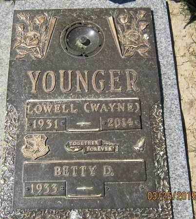 YOUNGER, LOWELL WAYNE - San Joaquin County, California   LOWELL WAYNE YOUNGER - California Gravestone Photos