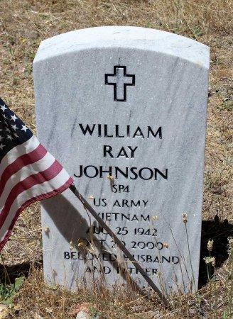 JOHNSON, WILLIAM RAY - Shasta County, California   WILLIAM RAY JOHNSON - California Gravestone Photos