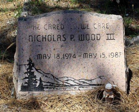 WOOD, NICHOLAS P. III - Shasta County, California | NICHOLAS P. III WOOD - California Gravestone Photos