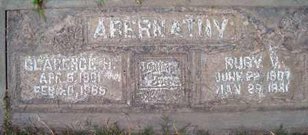 ABERNATHY, RUBY V. MONAY - Sutter County, California | RUBY V. MONAY ABERNATHY - California Gravestone Photos
