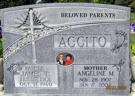 ACCITO, ANGLELINE M. - Sutter County, California | ANGLELINE M. ACCITO - California Gravestone Photos