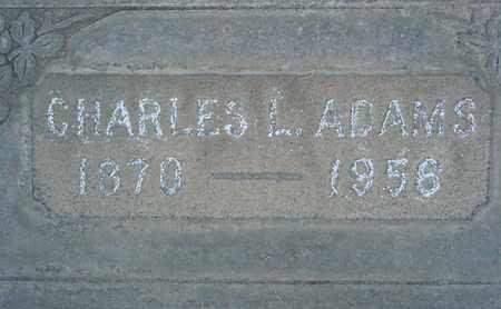 ADAMS, CHARLES L. - Sutter County, California | CHARLES L. ADAMS - California Gravestone Photos