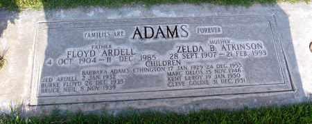 ADAMS, FLOYD ARDELL - Sutter County, California | FLOYD ARDELL ADAMS - California Gravestone Photos