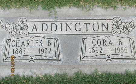 ADDINGTON, CORA BELL - Sutter County, California | CORA BELL ADDINGTON - California Gravestone Photos