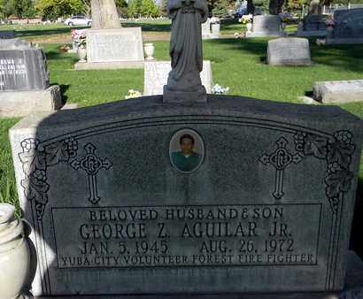AGUILAR, JR., GEORGE ZAPATA - Sutter County, California | GEORGE ZAPATA AGUILAR, JR. - California Gravestone Photos