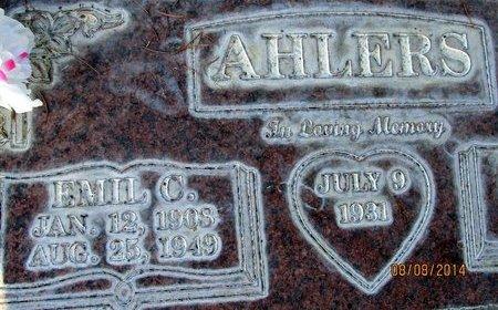 AHLERS, EMIL CARL - Sutter County, California | EMIL CARL AHLERS - California Gravestone Photos