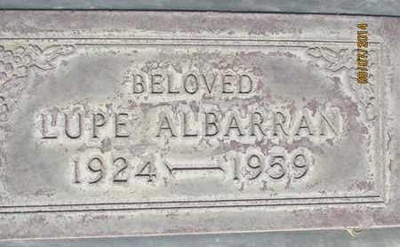 ALBARRAN, GUADALUPE M. - Sutter County, California | GUADALUPE M. ALBARRAN - California Gravestone Photos