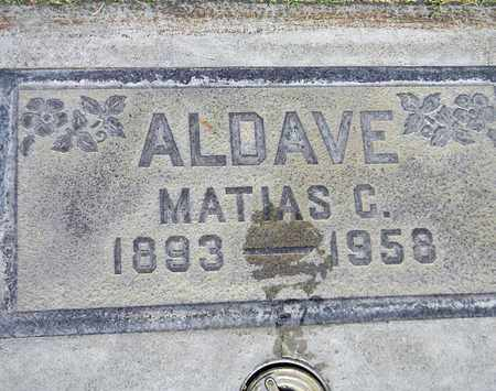 ALDAVE, MATIAS C. - Sutter County, California | MATIAS C. ALDAVE - California Gravestone Photos
