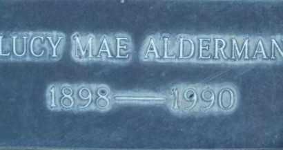 ALDERMAN, LUCY MAE - Sutter County, California   LUCY MAE ALDERMAN - California Gravestone Photos