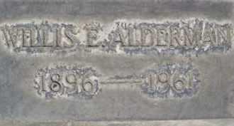 ALDERMAN, WILLIS E. - Sutter County, California   WILLIS E. ALDERMAN - California Gravestone Photos