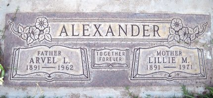 ALEXANDER, LILLIE M. - Sutter County, California | LILLIE M. ALEXANDER - California Gravestone Photos