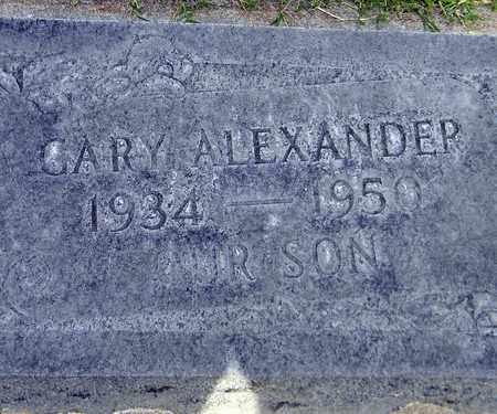 ALEXANDER, GARY LEONARD - Sutter County, California   GARY LEONARD ALEXANDER - California Gravestone Photos