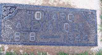ALEXANDER, HOWARD - Sutter County, California   HOWARD ALEXANDER - California Gravestone Photos