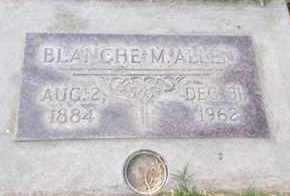 ALLEN, BLANCHE M. - Sutter County, California | BLANCHE M. ALLEN - California Gravestone Photos