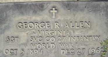 ALLEN, GEORGE R. - Sutter County, California | GEORGE R. ALLEN - California Gravestone Photos