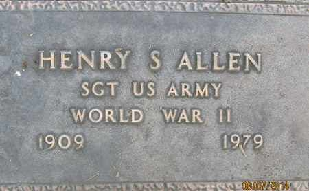 ALLEN, HENRY SAFTON - Sutter County, California | HENRY SAFTON ALLEN - California Gravestone Photos
