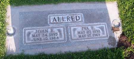 ALLRED, IVA EVELYN - Sutter County, California | IVA EVELYN ALLRED - California Gravestone Photos