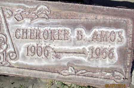 AMOS, CHEROKEE B. - Sutter County, California | CHEROKEE B. AMOS - California Gravestone Photos